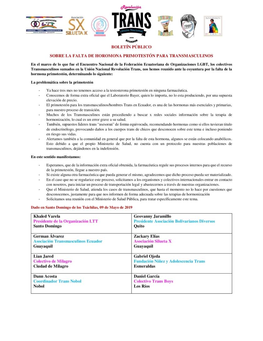 Boletín-de-Prensa-SOBRE-LA-FALTA-DE-HOROMONA-PRIMOTESTÓN-PARA-TRANSMASCULINOS-Trans-Boys-Asociación-